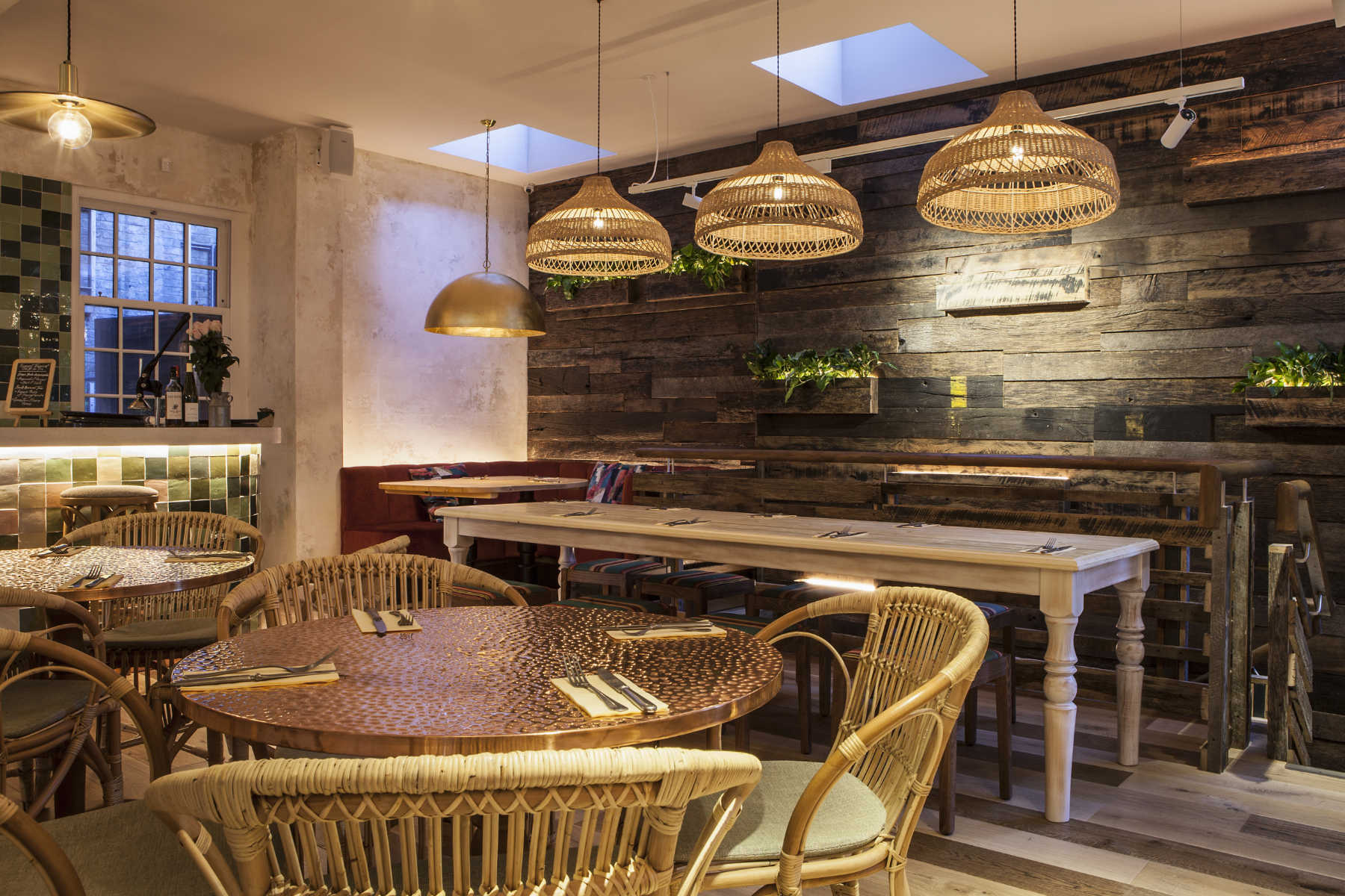 Restaurant interior fit out